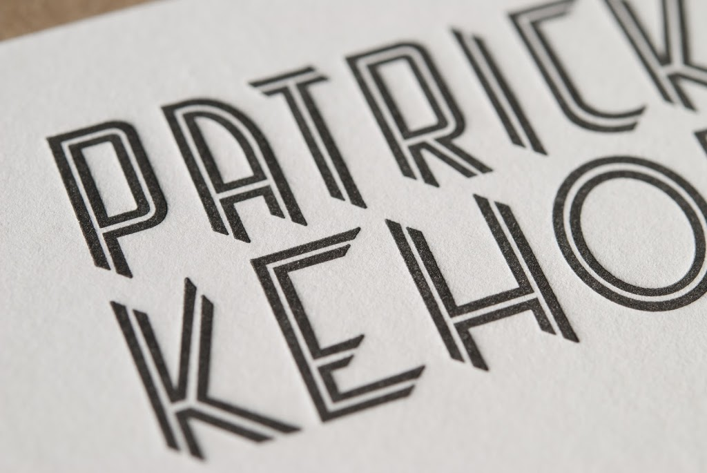 Motion archives evolution pressevolution press still and motion photographer patrick kehoe recently contacted evolution press for some fine letterpress business cards and after meeting with patrick and reheart Gallery